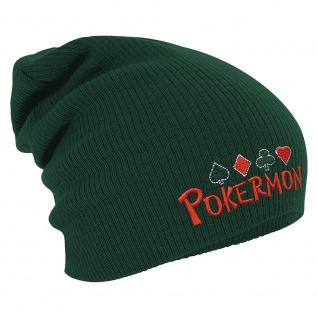 Longbeanie Slouch-Beanie Wintermütze Pokermon 54865 - Vorschau 3