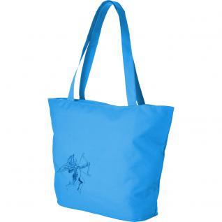 Modische Lifestyle-Tasche mit Motiv- Stickerei - Engel - 08955 - Shopper Einkaufstasche Ticiana Montabri