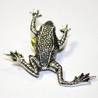Anstecknadel - Metall - Pin - Frosch - Größe ca 50 x 45 mm - 02877
