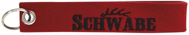 Filz-Schlüsselanhänger mit Stick - Schwabe - Gr. ca. 17x3cm - 14180