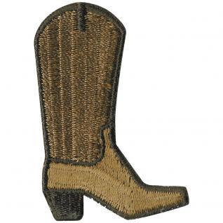 AUFNÄHER - Cowboystiefel - 02175 - Gr. ca. cm - Patches Stick Applikation