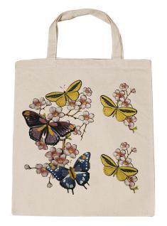 (06991-2)Umweltfreundliche Baumwoll - Tasche , ca. 28 x 43 cm mit Aufdruck in 7 Farben natur