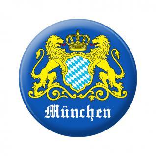 Flaschenöffner - München Wappen 2 löwen - 06396 - Gr. ca. 5, 7 cm