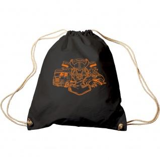 Trend-Bag mit Aufdruck - LKW Trucker Legend Swedish Thorhammer - 65115 - Turnbeutel Sporttasche Rucksack
