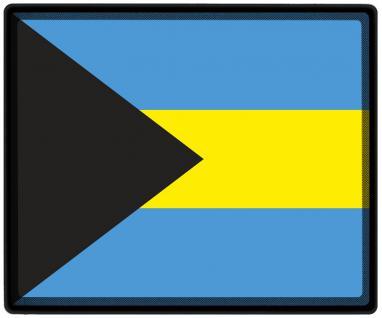 Mousepad Mauspad mit Motiv - Bahamas Fahne Fußball Fußballschuhe - 82019 - Gr. ca. 24 x 20 cm