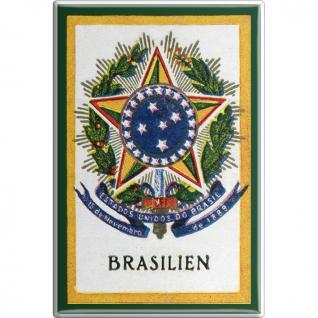Küchenmagnet - BRASILIEN - Gr. ca. 8 x 5, 5 cm - 38964 - Magnet