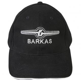 Baseballcap mit Einstickung - BARKAS - 68541/1 - schwarz