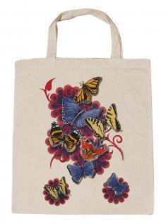 (U09842)Umweltfreundliche Baumwoll - Tasche , ca. 28 x 43 cm mit Aufdruck in 7 Farben natur