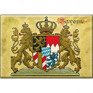 MAGNET - Bayern - Gr. ca. 8x5, 5 cm - 37644 - Küchenmagnet