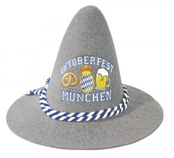 Gaudi-Hut Sepplhut mit Einstickung - Oktoberfest München - 51499