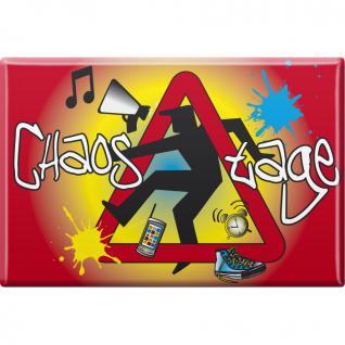 Küchenmagnet - CHAOSTAGE - Gr. ca. 8 x 5, 5 cm - 38833 - Magnet