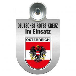 Einsatzschild Windschutzscheibe incl. Saugnapf - Deutsches Rotes Kreuz - 309356-20 - Region Österreich
