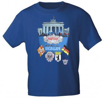T-Shirt mit Print - Berlin - 08943 royalblau Gr. S-2XL