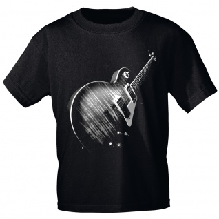 T-Shirt mit Print Cosmic Legend Gitarre - ROCK YOU MUSIC SHIRTS 10189 Gr. S