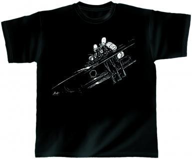 Designer T-Shirt - Trumpet Classic - von ROCK YOU MUSIC SHIRTS - 10388 - Gr. M