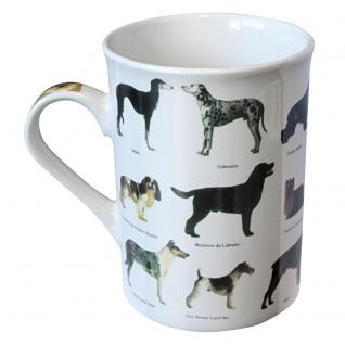 Tasse Kaffeebecher Hunde Schäferhund Dackel Labrador 57248