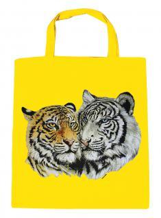 (08870/3-gelb) Umweltfreundliche Baumwoll - Tasche , ca. 28 x 43 cm mit Aufdruck