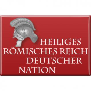 Kühlschrankmagnet - Heiliges Römisches Reich - Gr. ca. 8 x 5, 5 cm - 38730 - Küchenmagnet