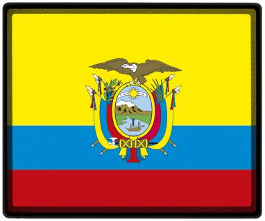 Mousepad Mauspad mit Motiv - Ecuador Fahne Fußball Fußballschuhe - 82044 - Gr. ca. 24 x 20 cm