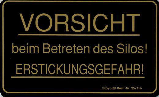 Warnschild - VORSICHT ERSTICKUNGSGEFAHR - Gr. 25 x 15 cm - 308464