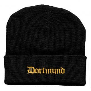 Hip-Hop Mütze Dortmund 56503 schwarz