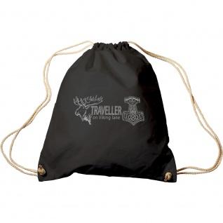 Trend-Bag mit Aufdruck -Traveller on Viking Lane - 65116/1 - Turnbeutel Sporttasche Rucksack