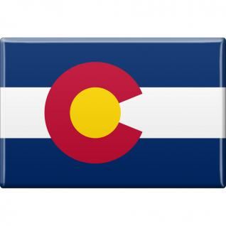 (37106-1) MAGNET - Colorado - Gr. ca. 8 x 5, 5 cm - 37106 - Küchenmagnet
