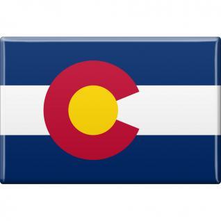 MAGNET - US-Bundesstaat Colorado - Gr. ca. 8 x 5, 5 cm - 37106/1 - Küchenmagnet