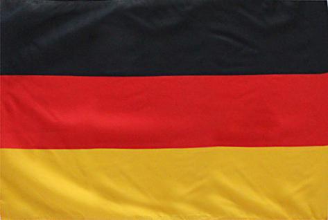 Dekofahne - DEUTSCHLAND - Gr. ca. 150 x 90 cm - 80040 - Deko-Länderflagge Jumboflagge
