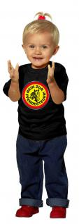 Kinder T-Shirt mit Aufdruck - NEIN ZUR PFERDESTEUER - 06975 - schwarz - Gr. 98/104