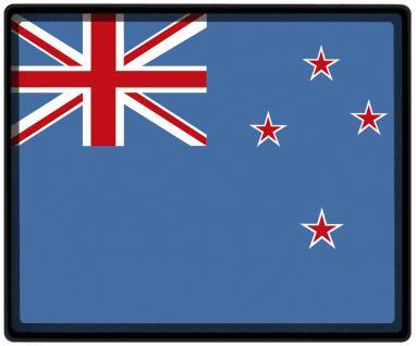 Mousepad Mauspad mit Motiv - Neuseeland Fahne Fußball Fußballschuhe - 82117 - Gr. ca. 24 x 20 cm
