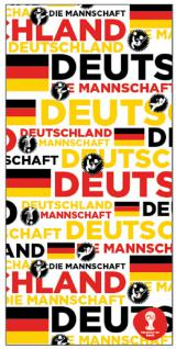Multifunktions Schal schwarz rot gold Deutschland 50110