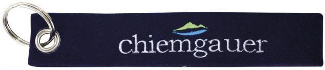 Filz-Schlüsselanhänger mit Stick - Chiemgauer - Gr. ca. 17x3cm - 14178