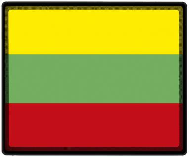 Mousepad Mauspad mit Motiv - Litauen Fahne Fußball Fußballschuhe - 82095 - Gr. ca. 24 x 20 cm
