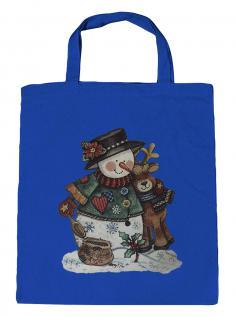 (08903/1-hellblau) Umweltfreundliche Baumwoll - Tasche , ca. 28 x 43 cm mit Aufdruck