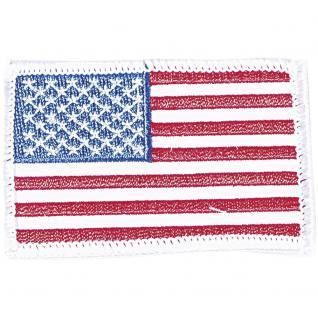 "Aufnäher "" USA Amerika"" Gr. 7cm x 4, 5cm (04374) Stadtwappen Landeswappen Regional Flagge"