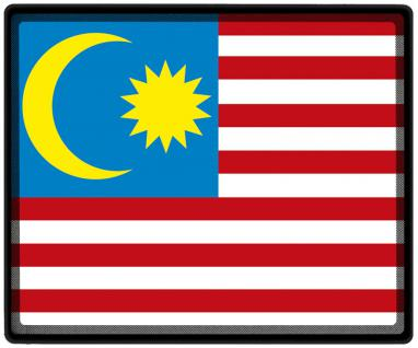 Mousepad Mauspad mit Motiv - Malaaysia Fahne Fußball Fußballschuhe - 82099 - Gr. ca. 24 x 20 cm