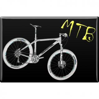 MAGNET - MTB - Gr. ca. 8 x 5, 5 cm - 38301 - Küchenmagnet