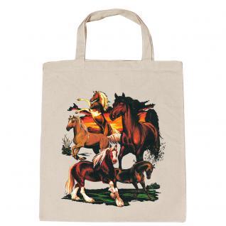08859 BW-Tasche mit Pferdemotiv ARABER NEU Collection Boetzel