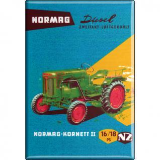MAGNET - Traktor Normag - Gr. ca. 8 x 5, 5 cm - 36521 - Küchenmagnet