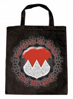 Umweltfreundliche Baumwolltasche mit Aufdruck - Franken - 08941 - Bag Cotton Einkaufstasche
