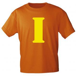 """Marken T-Shirt mit brillantem Aufdruck """" I"""" 85121-I S"""