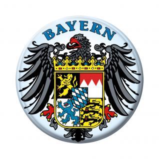 Küchenmagnet Bayern Wappen Emblem 16239 Gr. ca. 5, 7cm