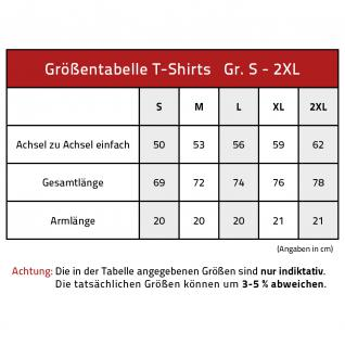 T-Shirt mit Print - I love Oktoberfest - 08620 hellblau - Gr. S - Vorschau 2