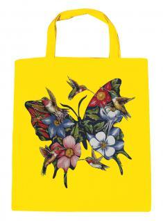 (U06993)Umweltfreundliche Baumwoll - Tasche , ca. 28 x 43 cm mit Aufdruck in 7 Farben gelb