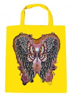 (U10807)Umweltfreundliche Baumwoll - Tasche , ca. 28 x 43 cm mit Aufdruck in 7 Farben gelb