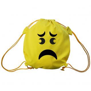 Trend-Bag mit Aufdruck - Smilie - 65211 - Turnbeutel Sporttasche Rucksack