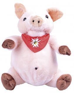 Plüschtier - Schweinchen - Gr. ca. 19 cm - 39972 rosa