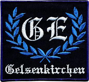 AUFNÄHER - NEU - 00754 - Gr. ca. 8, 5 cm x 8 cm - Patches Stick Applikation Bügel-Emblem