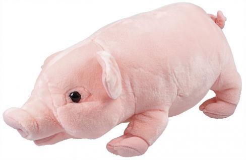 Plüschtier - Schweinchen - Gr. ca. 30 cm - 39971 rosa